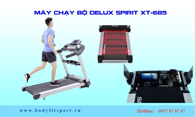 Máy chạy bộ Delux Spirit XT-685